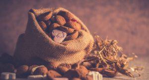 Pepernoten om te snoepen met Sinterklaas