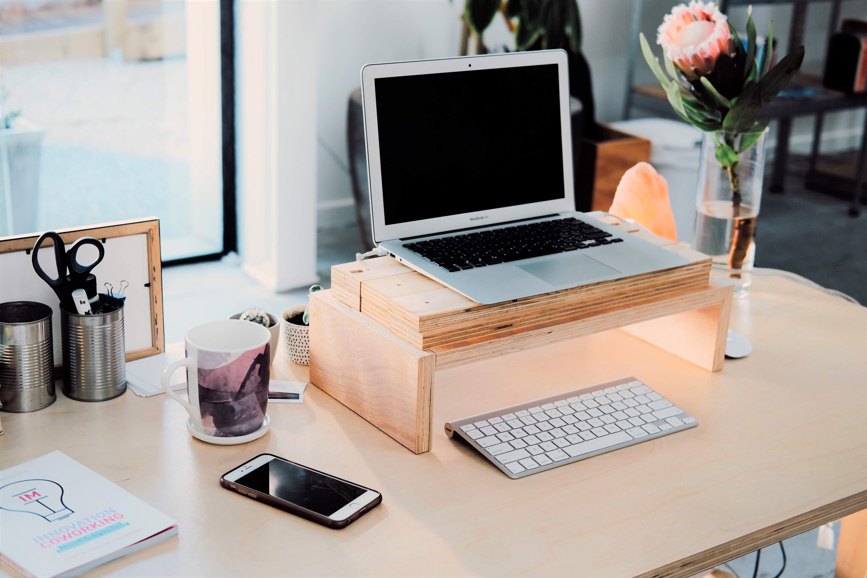 werkplek waar je rustig kunt werken