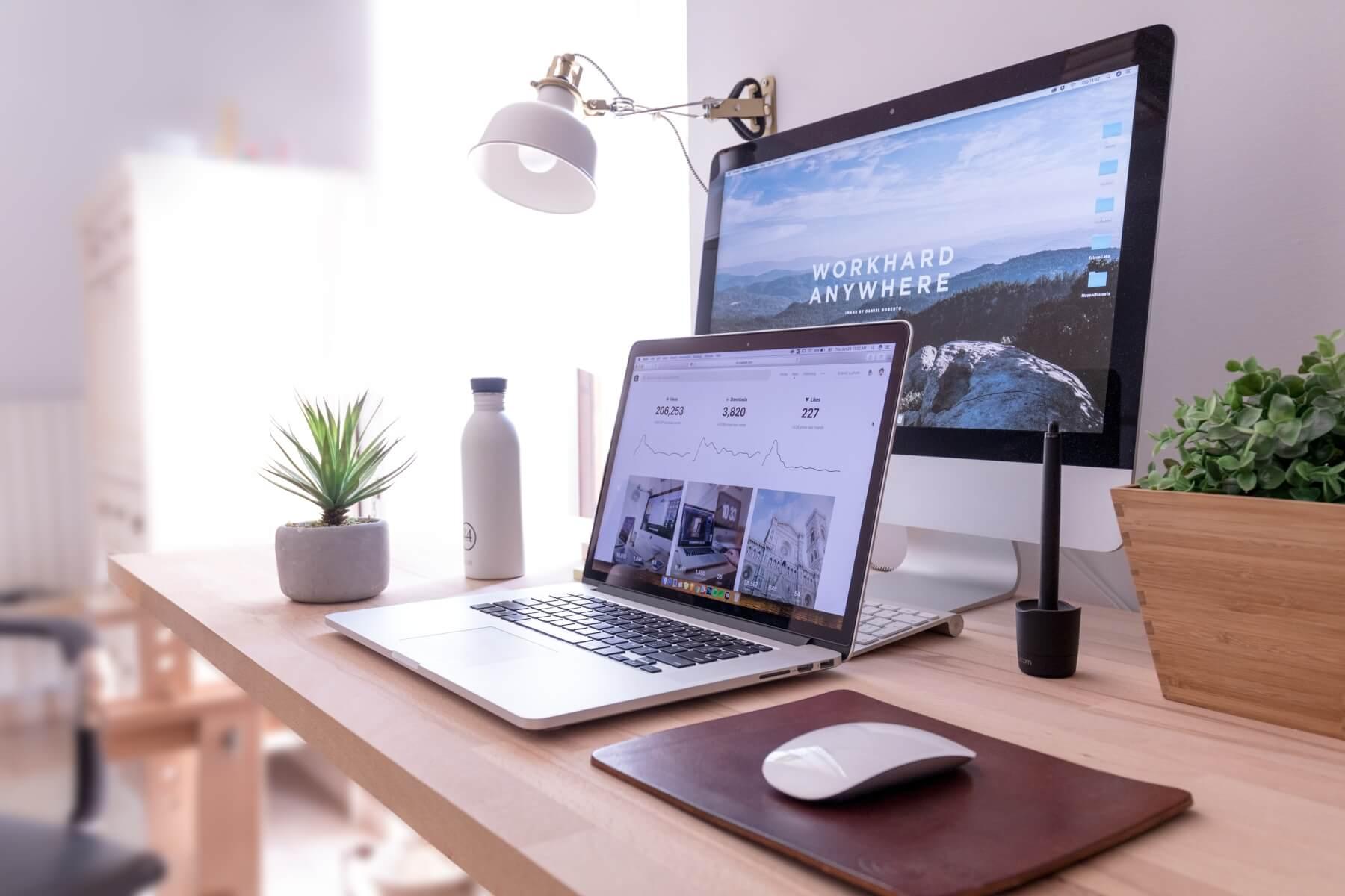Schermen waarop je een website kunt tonen