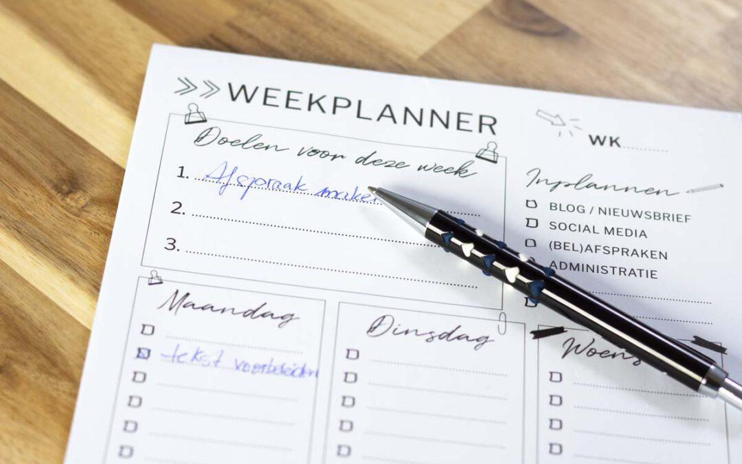 Doelen stellen en plannen maken voor meer succes als ondernemer